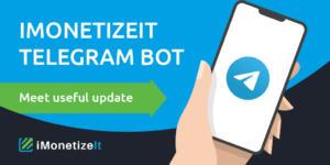 iMonetizeIt Telegram bot